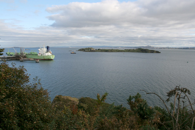Inchcolm from Braefoot Point
