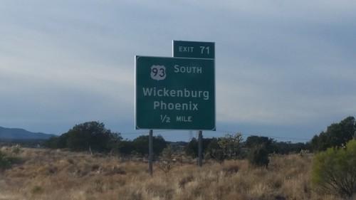US-93 at I-40