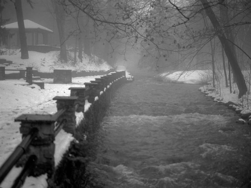 Geyser Creek, Rain