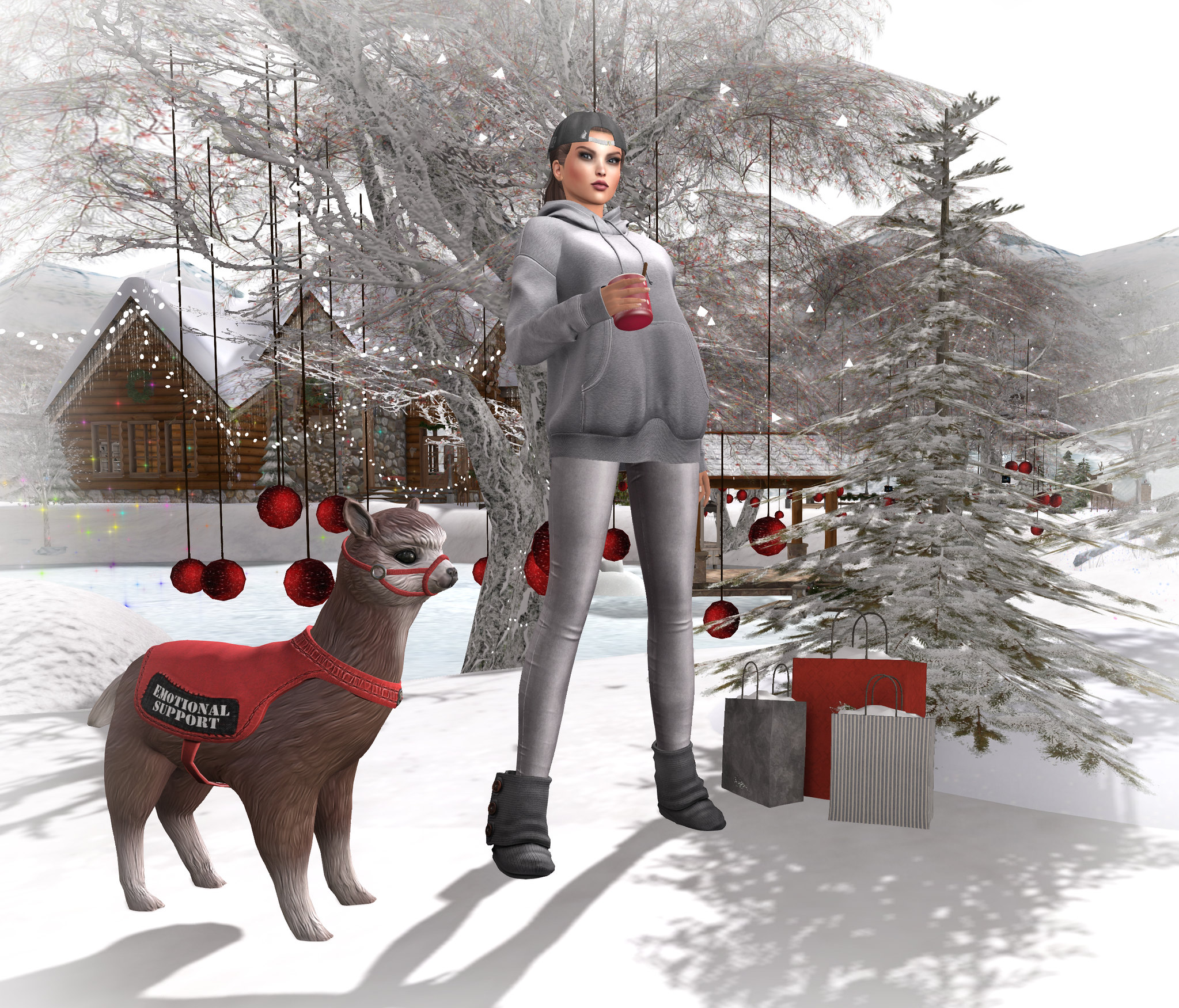 winter showcase shopping
