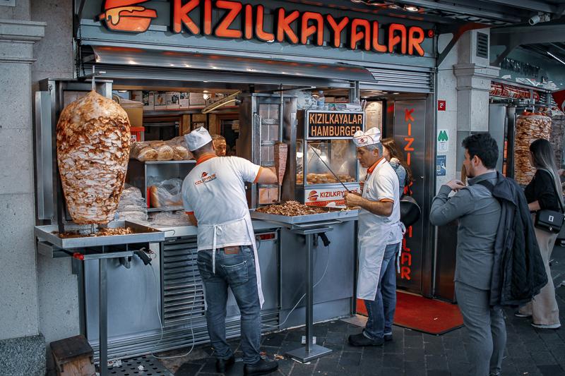 Comida en Estambul