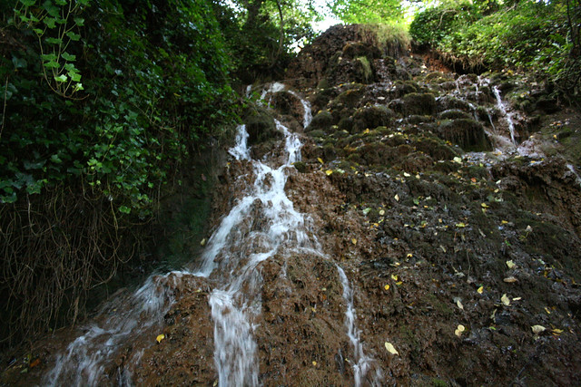Waterfall on the Fife Coast Path