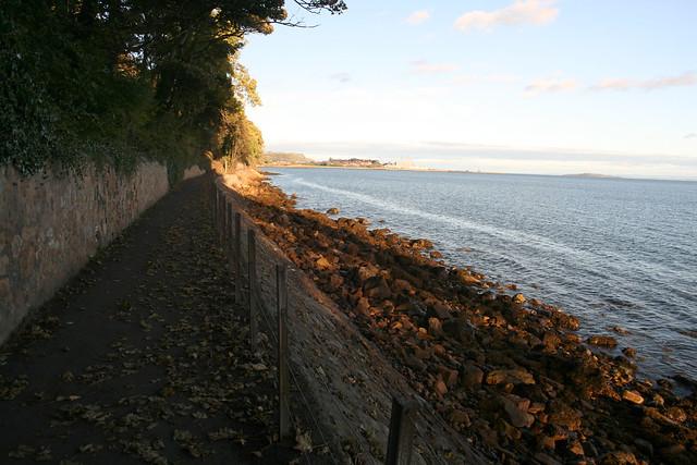 The Fife Coast path near Aberdour