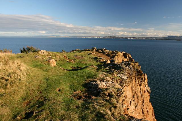 View from Hawkcraig Point near Aberdour