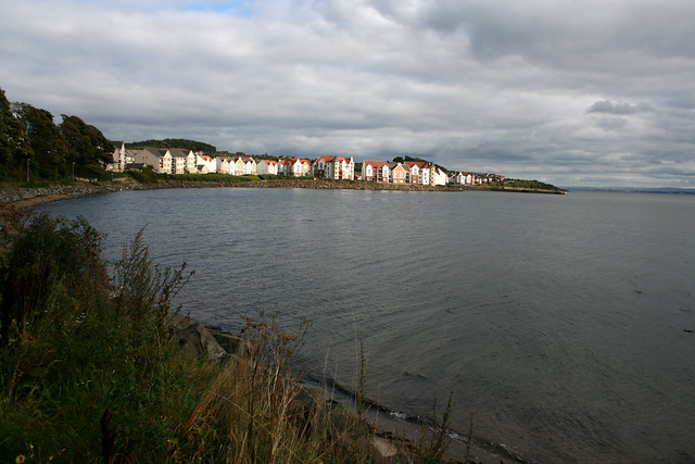 Dalgety Bay on the Firth of Forth