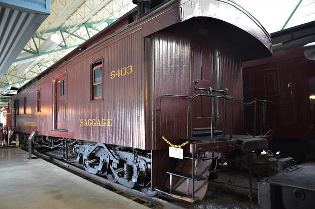 Pennsylvania Railroad No. 5403, Pennsylvania, Strasburg, Railroad Museum of Pennsylvania