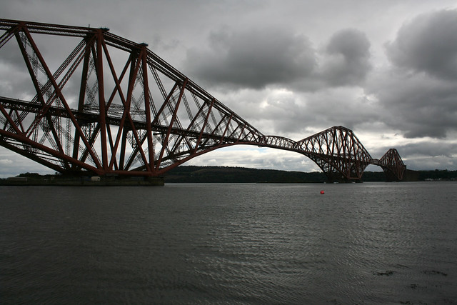 The Forth Bridge at North Queensferry