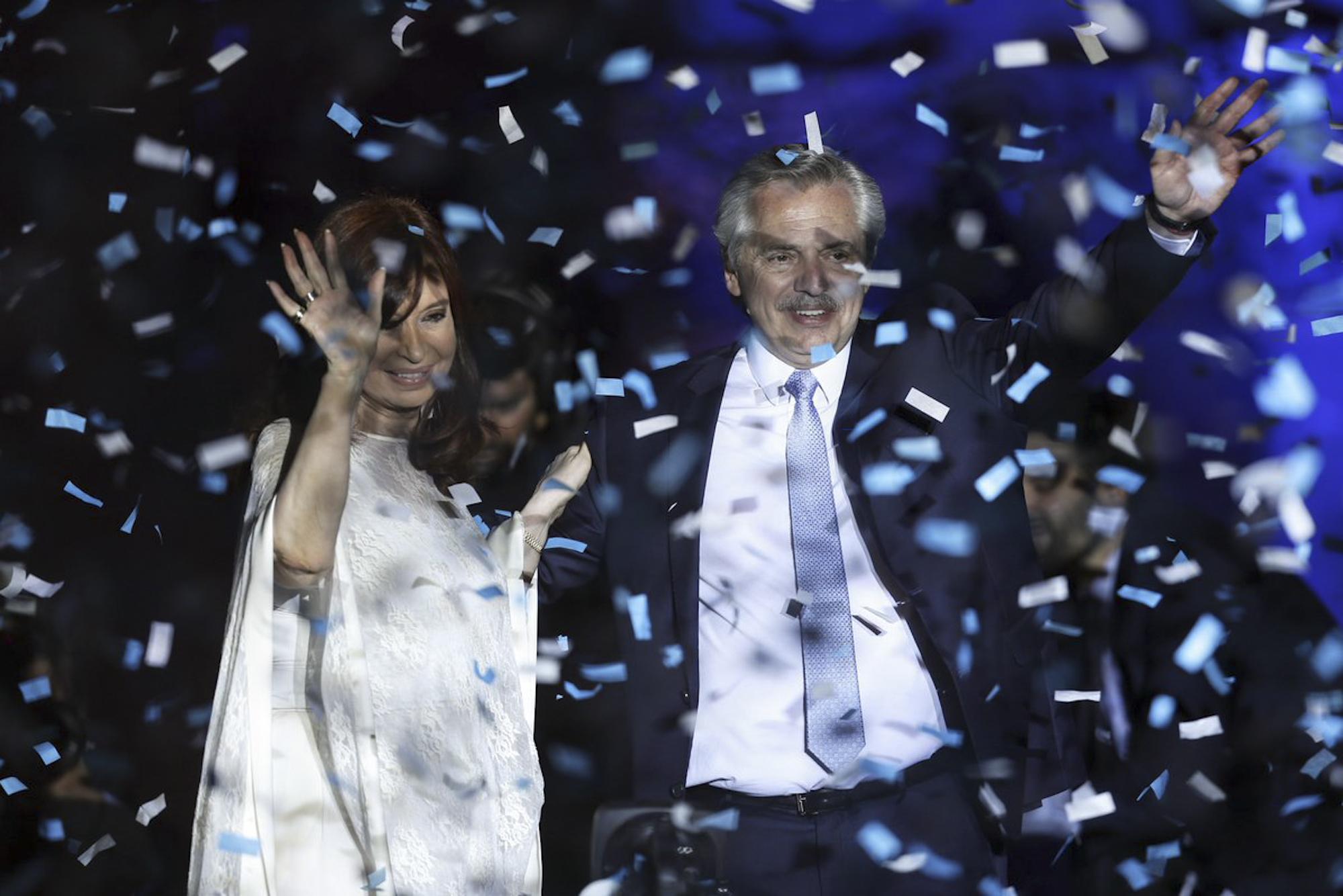 Vicepresidente sectorial Jorge Rodríguez asiste a toma de posesión de Alberto Fernández en Argentina