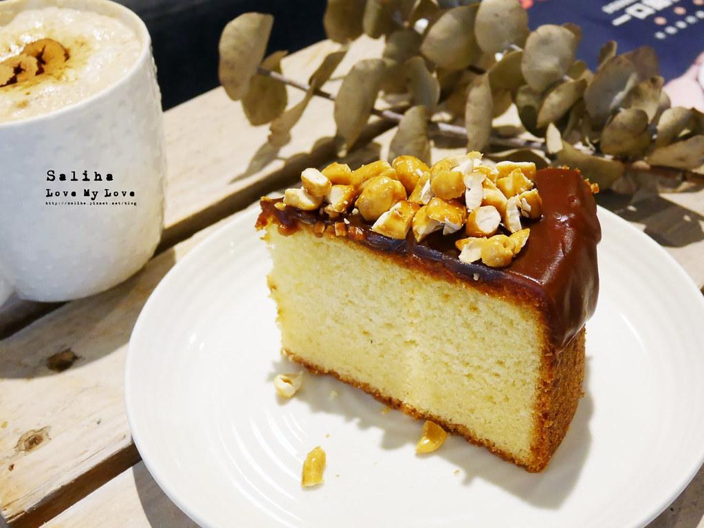 台北六張犁站文青咖啡廳下午茶推薦休習日Z Day Cafe甜點蛋糕 (1)