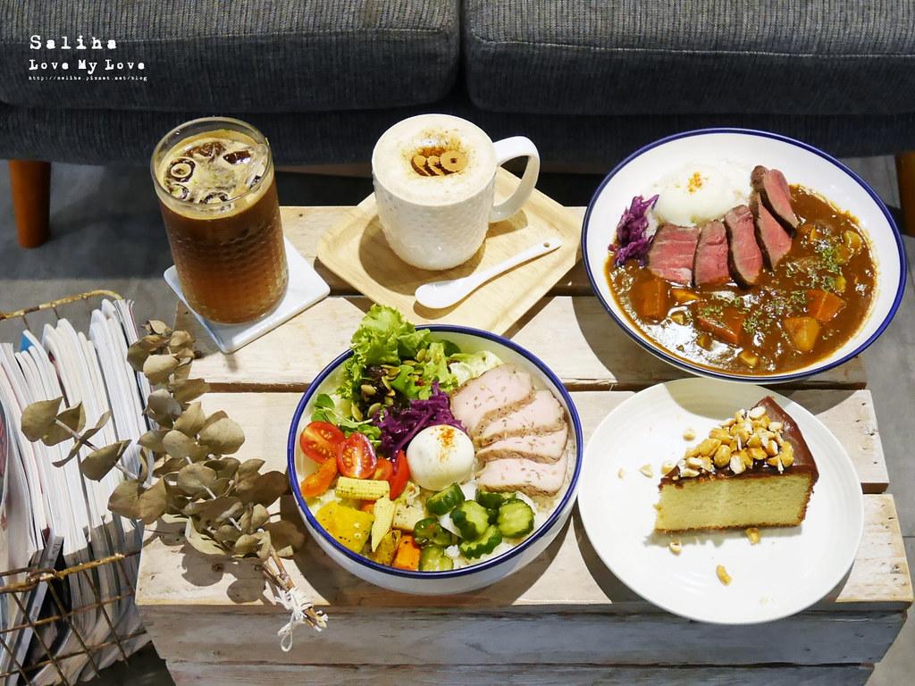 台北六張犁文青咖啡廳下午茶休習日Z Day Cafe推薦甜點聊天看書 (1)