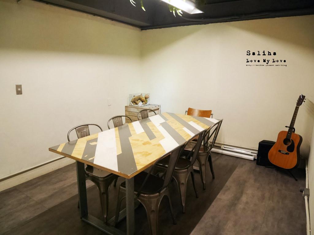 台北大安區六張犁休習日Z Day Cafe有包廂的咖啡廳下午茶推薦