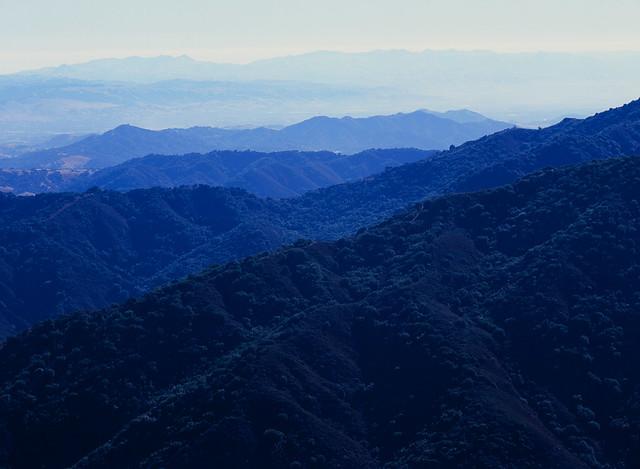 View from Mount Umunhum, San Jose, California