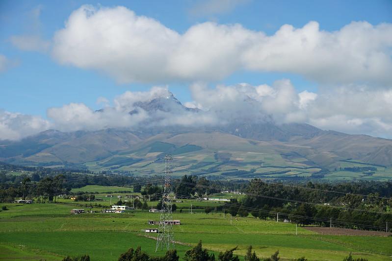 The Illinizas, the Avenue of the Volcanos at 3,860 meters (12,664 ft) MSL, Los Illinizas Ecological Reserve, Mejía, Ecuador.