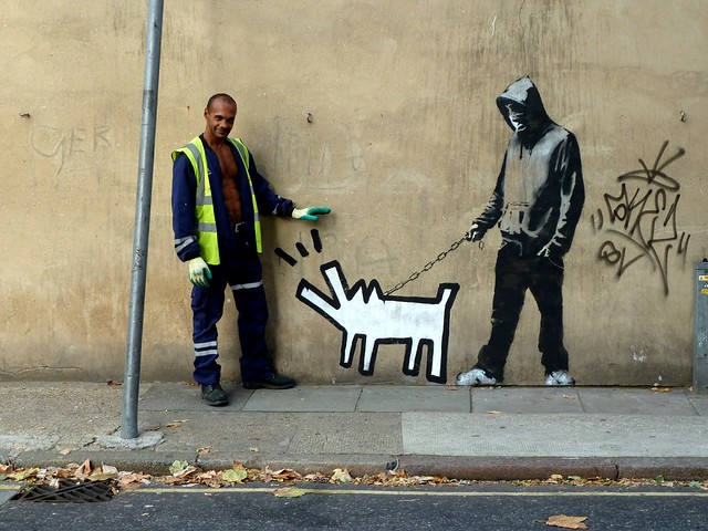Banksy Choose Your Weapon