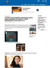LATINX SANDRA SANTIAGO 911 ON FOX BY FOX34 NEWS