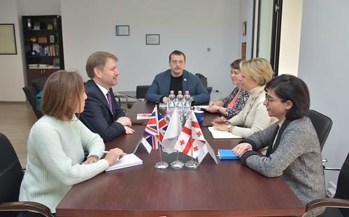 სახალხო დამცველი საქართველოში დიდი ბრიტანეთის ელჩს შეხვდა / 22.11.19 /Public Defender Meets with Ambassador of Great Britain to Georgia