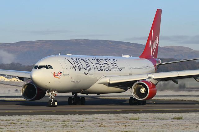 G-VMIK Airbus A330-223 EGPF 30-11-19