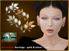 Bliensen - Moonlight - earrings