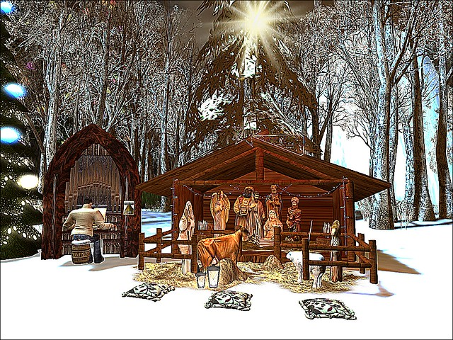 Steelwood Forest -Away In the Manger Adoration