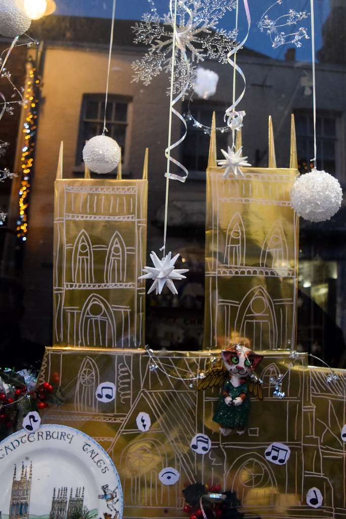 Cosmo China Cathedral Canterbury Christmas Window 2019