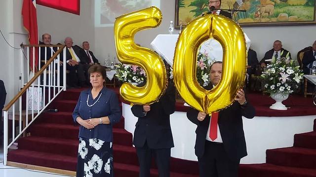 Reunión de Pastores Sector N°6 en iglesia de Talagante
