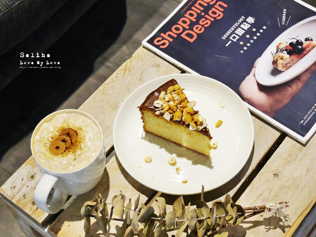 台北六張犁文青咖啡廳下午茶休習日Z Day Cafe推薦甜點聊天看書 (2)