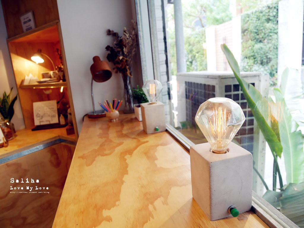 台北溫度文青咖啡廳休習日Z Day Cafe大安區六張犁下午茶推薦氣氛舒服 (1)
