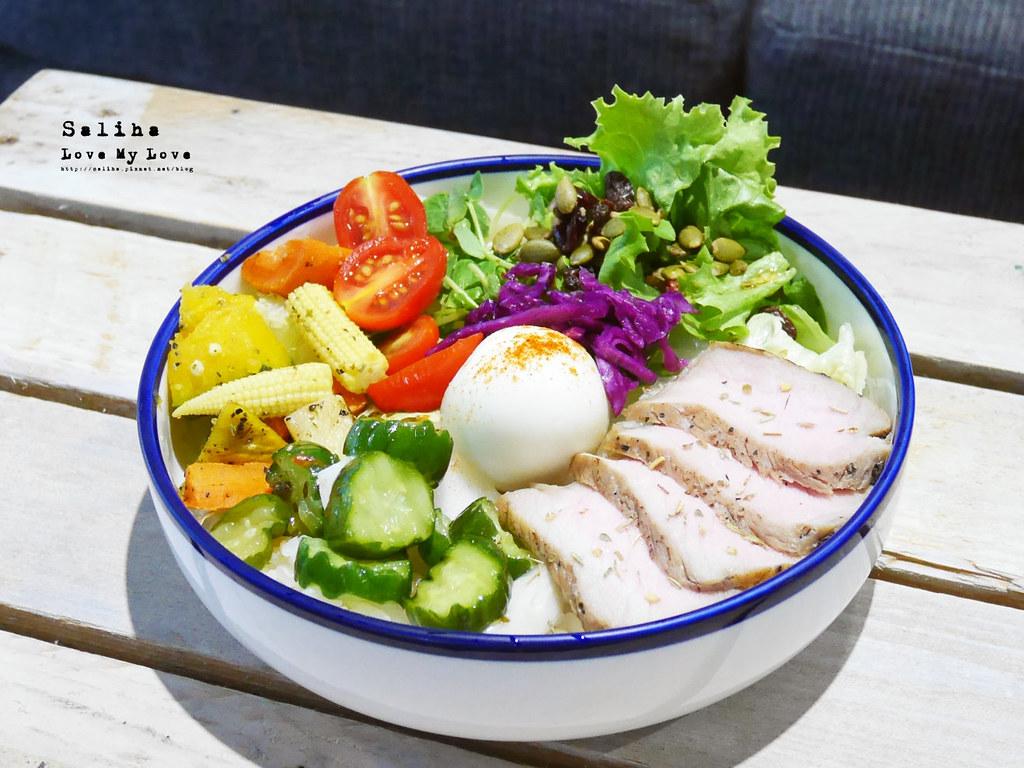 台北六張犁咖啡廳推薦休習日沙拉飯早午餐輕食下午茶 (2)
