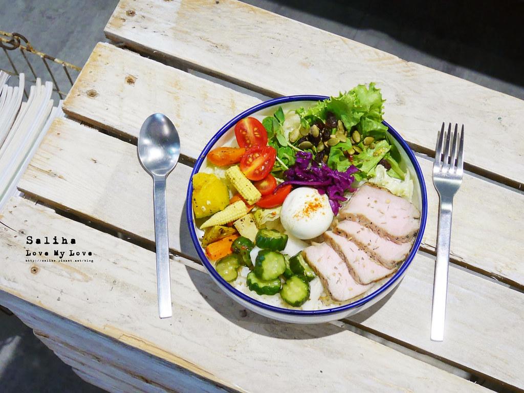 台北六張犁咖啡廳推薦休習日沙拉飯早午餐輕食下午茶 (1)