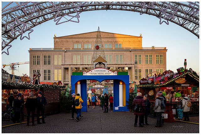Weihnachtsmarkt in Leipzig.                              Guten Morgen und einen schönen Tag zusammen. LG