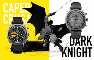 將蝙蝠俠精神完全發揮!UNDONE x DC《蝙蝠俠》80週年紀念 鈦金屬聯名錶(UNDONE Batman's 80th Anniversary Titanium Edition)