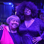 Tue, 10/12/2019 - 8:27pm - Mavis Staples and Yola at Holiday Cheer for FUV, 12/10/19 at the Beacon Theatre in New York City. Photo by Neil Swanson