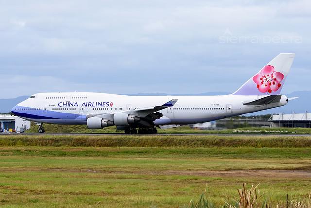 B-18203 B747 CHINA AIRLINES YBBN