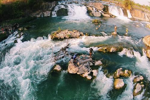 Khone Falls - Fish Pass Study, Champasak Province Lao PDR