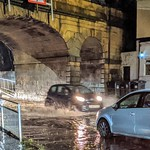 The 'swimming pool' that is under the rail bridge on Fylde Road everytime it rains