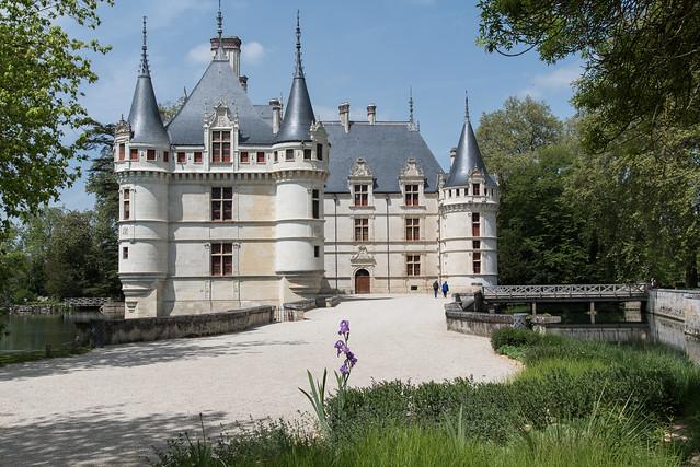 Château (1518-1523) d'Azay-le-Rideau  (Indre-et-Loire, France)