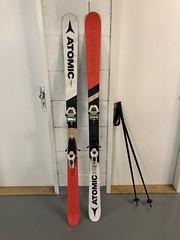 Freeski lyže Atomic punx 5 175cm, + příslušenství - titulní fotka