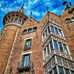 2. Detsember 2019 - 9:20 - Barcelona. Casa de les Punxes. 1905. Modernista. Arquitecto Puig i Cadafalch. Art Nouveau.