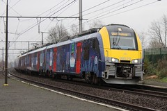 NMBS 08579 & 08558 Happy Train Beveren-Waas