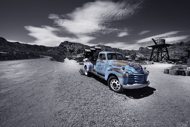 Chevrolet Pickup in Nelson Ghost Town - Nevada - USA