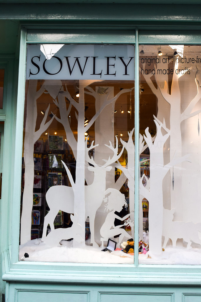 Sowley Canterbury Christmas Window 2019