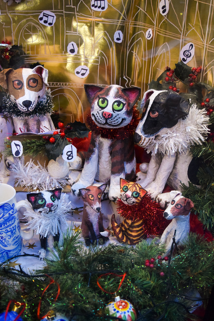 Cosmo China Animals Canterbury Christmas Window 2019