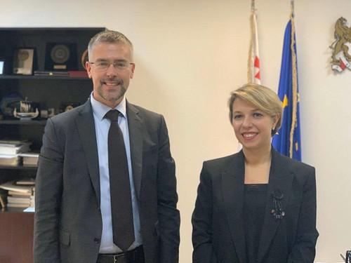 სახალხო დამცველი შვედეთის ელჩს შეხვდა / 02.12.19 / Public Defender Meets with Ambassador of Sweden