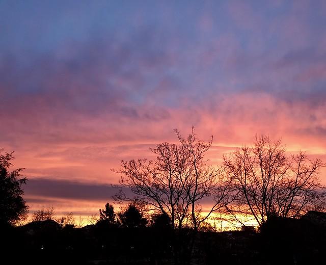 Sonnenaufgang 11.12.2019