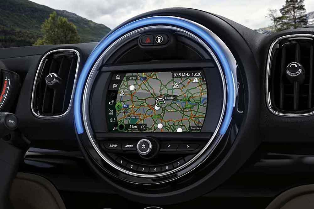 【新聞圖片五】MINI Visual Boost中文觸控螢幕與MINI原廠導航系統