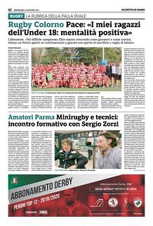 Gazzetta di Parma 11.12.19 - pag 50