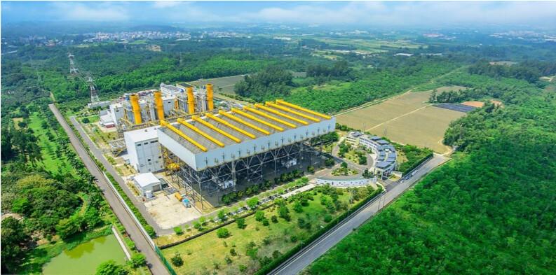 森霸電力公司二期工程規劃示意圖。擷取自環評書件