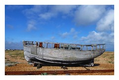 Ship wreck at Dungeness