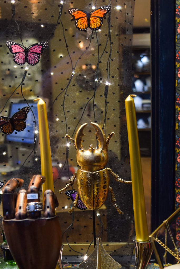 Fitzgerald Beetle Canterbury Christmas Window 2019