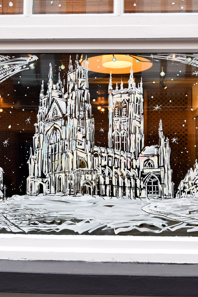 Canterbury Cathedral Ambrette Canterbury Christmas Window 2019